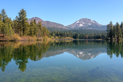Chaos Crags and Lassen Peak