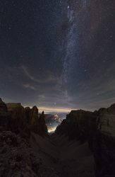 Colfosco Under The Milky Way