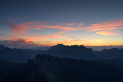 Sunset Over Piz Boe