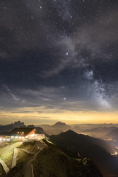 Rifugio Lagazuoi Under The Stars