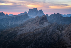 Dawn Light Over Monte Pelmo
