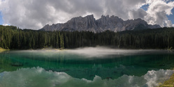 Fairytale Lake Of The Dolomites