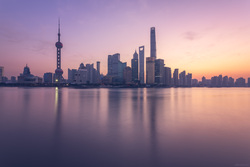 Dawn Over The Huangpu River