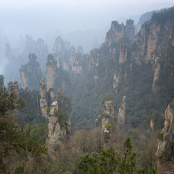 Sandstone Pinnacles