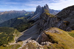 The Side Of Seceda