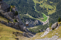 Seceda Cable Car