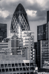Lloyd's and The Gherkin