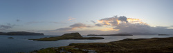 Oronsay From Ullinish Point